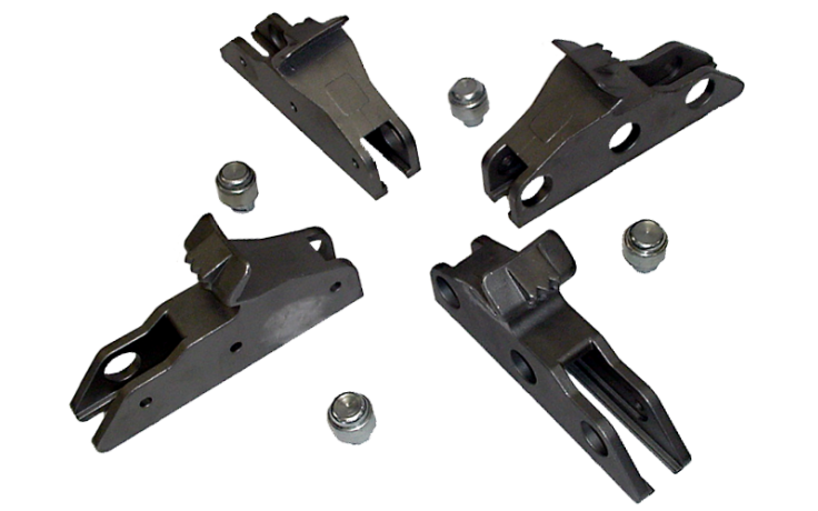 Steel 3-Position Clamps
