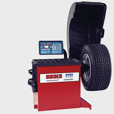 6450 Heavy Duty Wheel Balancer