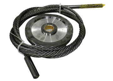 Machined Pulleys and Cables
