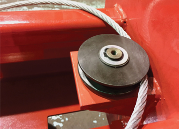Non Fatigue Cables and Pulleys